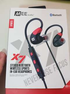 Mee audio X7 Bluetooth in ear headphones