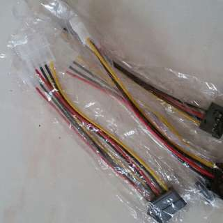 HDD data pwr cables 10$ for all five pcs