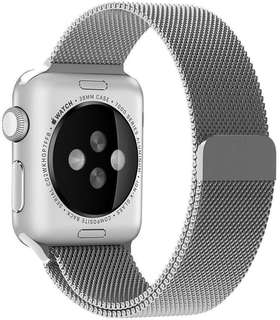 Free Mailing! Apple Watch 38mm Milanese Replacement Strap - Silver