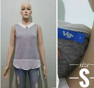 Valey blouse ( valey top / blouse baley / boise cantik / casual top / top valey )