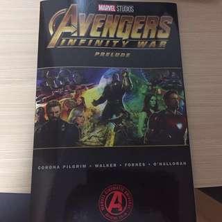 Marvel Avengers Infinity War Prelude