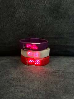 Puma/Nike LED Watch Wristband