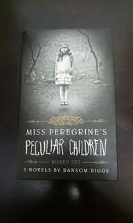 Book Sale - Miss Peregrine Trilogy Set