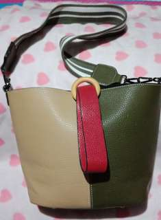 Repriced!!!Bucket leather bag