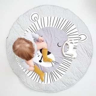 Infant Newborn Toddler Baby Cartoon Play Mat Children Crawling Carpet Kids Gym Activity Cute Blanket
