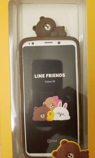 韓國正品Line Friends Smart Phone Case Samsung S9