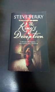 Book Sale - The King's Deception