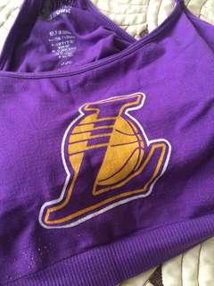 Lakers Sports Bra
