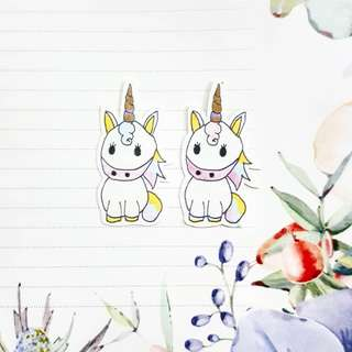 DIY Unicorn Stickers (6 for RM2)