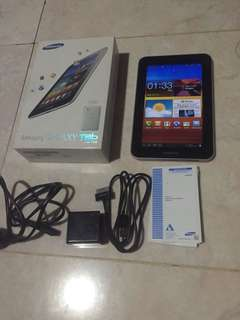 Dijual Samsung Galaxy Tab 7.0 Plus 16 GB Cell+Wifi Warna Pure White