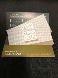 Golden Village Gold Class Movie Gift Voucher
