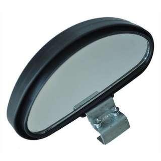 1pc Lorry van car Black Plastic Casing Car Side Blindspot Blind Spot Mirror Wide Angle View