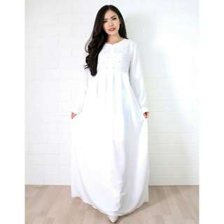 Dress muslim pearl