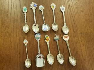 10 Sterling Silver tea spoons at one price