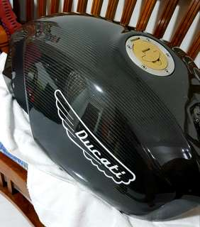 Ducati monster carbon fiber tank.
