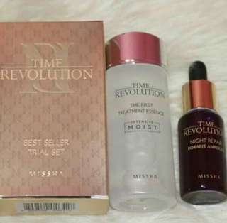 Missha Time Revolution Trial Set (Best Seller) 💖