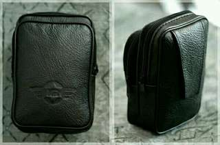 Dompet tas gadget kulit asli