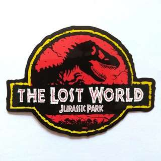 Jurassic Park Lost World Sticker Decal Laptop Luggage Skateboard
