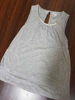 H&M Grey Top