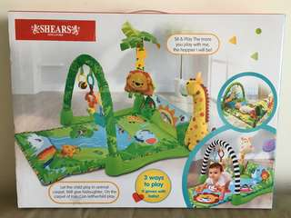 Shears Baby Activity Gym Play Mat