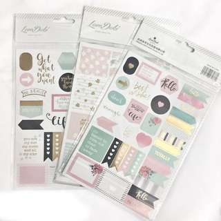 [Ready Stock] LoveDoki Planner Stickers