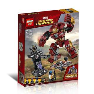 LEPIN™ 07102 Infinity War The Hulkbuster Smash-up
