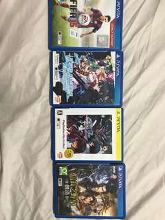 Ps vita games at $20 each
