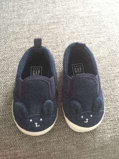 NEW Baby GAP Bunny Slip-on Crib Shoes
