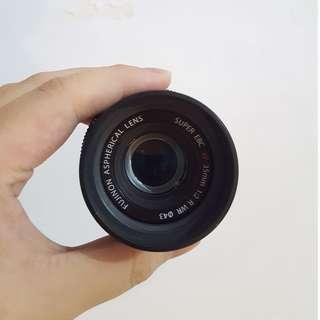 JUAL Fujifilm 35mm f2.0 WR Black Like New!!