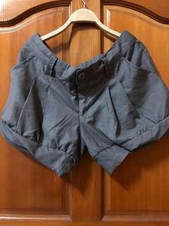 西裝布 短褲