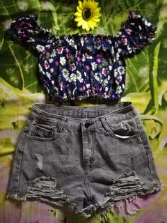 Hw tattered short