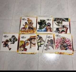 Japan Version One Piece prize C Battle C Selection