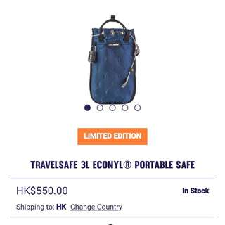 全新 Pacsafe Travelsafe 3L ECONYL 隨身袋