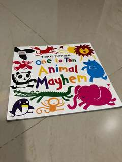 One To Ten Animal Mayhem