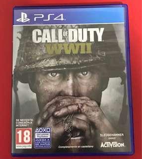 Call of Duty WW2 PS4 (Italian)