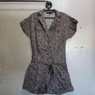 Details Floral Romper (Shorts)