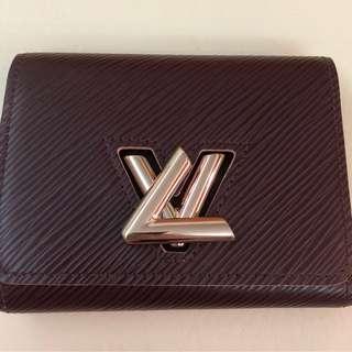 二手 正貨 LV Twist系列銀包 Full set連盒塵袋紙袋 有心買可平