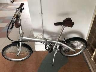Bickerton brand foldable bicycle / foldie / bikes