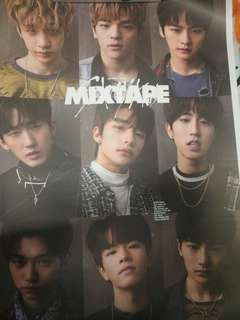 OFFICIAL STRAY KIDS MIXTAPE 2 VERSIONS POSTER