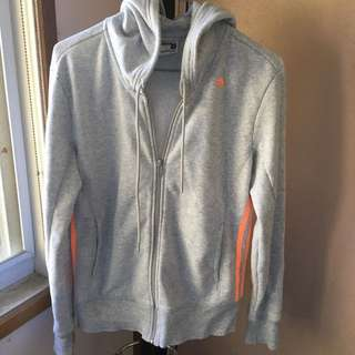 Adidas grey sports jacket