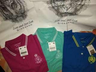 Authentic Womens Giordano Polo Shirt