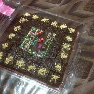 brownies..