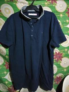 Penshoppe Navy blue Polo shirt