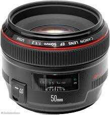 Canon 50mm 1.2 (UX)