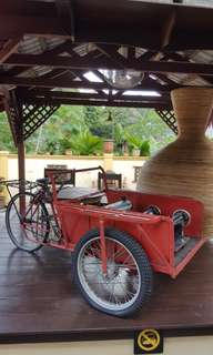 Old Tricycle Cart