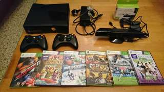 Xbox 360 + Kinect+ 8 games