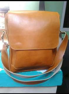 Tas kulit asli full up (full kulit)