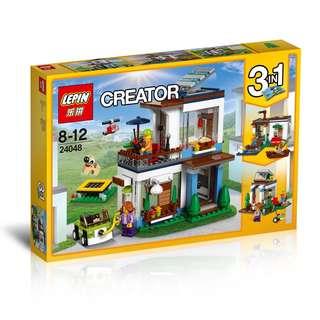 LEPIN™ 24048 Creator 3in1 Modular Modern Home
