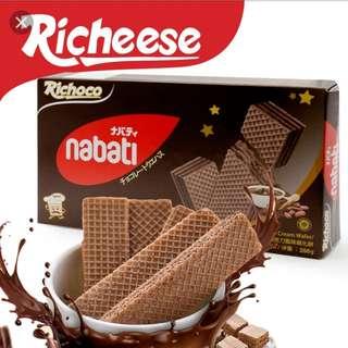 麗滋巧克力威化餅6盒