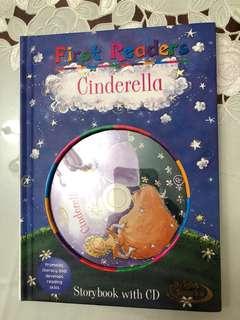 Cinderella Storybook with CD